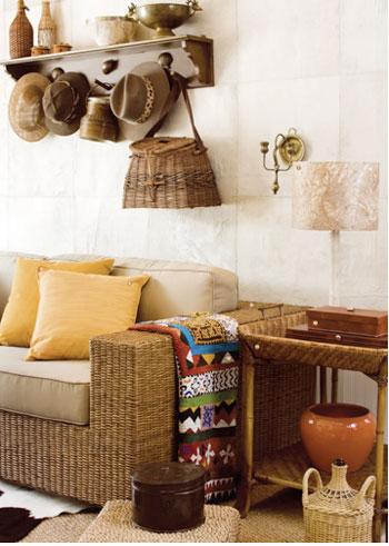 casa com decoracao regional
