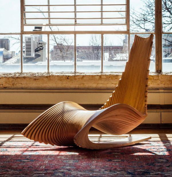 Cadeira Escultural